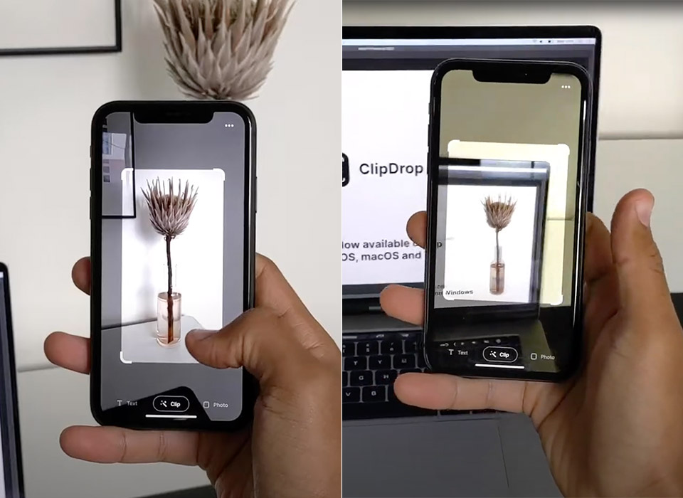 ClipDrop AR Cut Paste