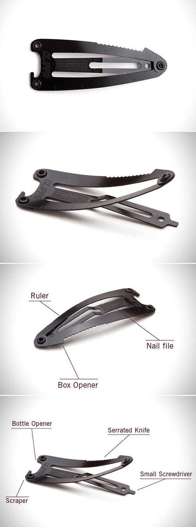 Clippa Blackfin Multi-Tool Hair Clip