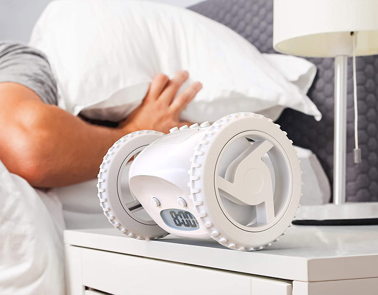 Clocky Alarm Clock Daylight Saving Time