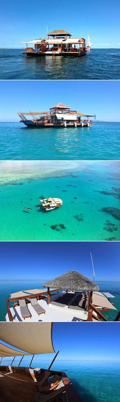 Cloud 9 Fiji Floating Bar