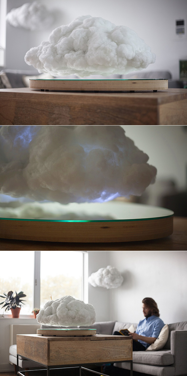 Cloud Speaker Light