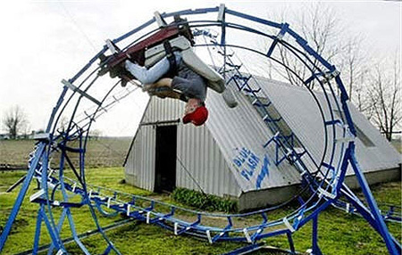 Feature: Homemade Roller Coasters That Provide Backyard ...