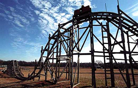 Feature: Homemade Roller Coasters That Provide Backyard Thrills