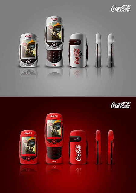 What a Real Coca-Cola Cell Phone Would Look Like – TechEBlog