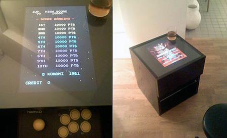 Cocktail Table Arcade