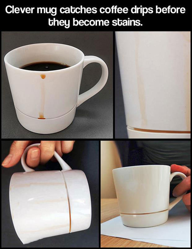 Coffee Mug Drip Catcher