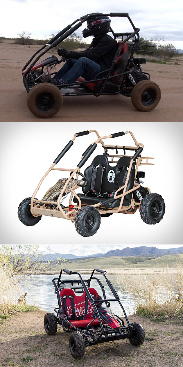 You Can Actually Buy the Coleman Powersports KT196 Go-Kart Off Amazon