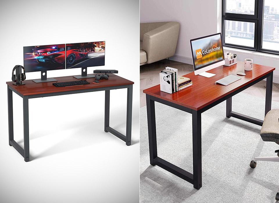 Coleshome 47-inch Computer Desk