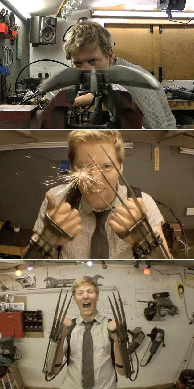 Retractable Wolverine Claws