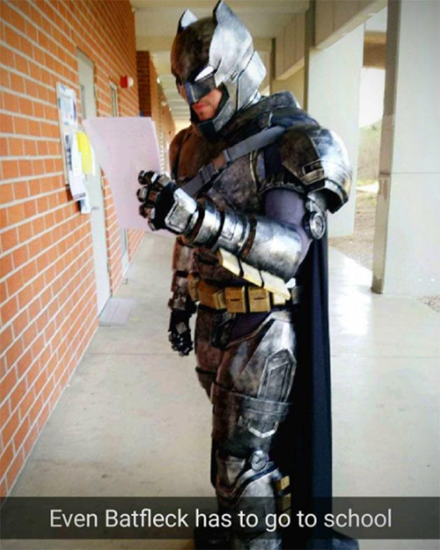 College Student Batman