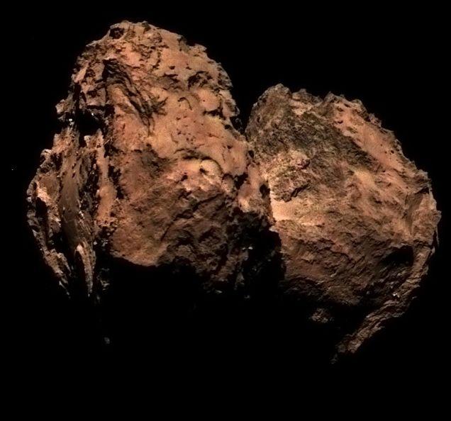 Color Comet 67P