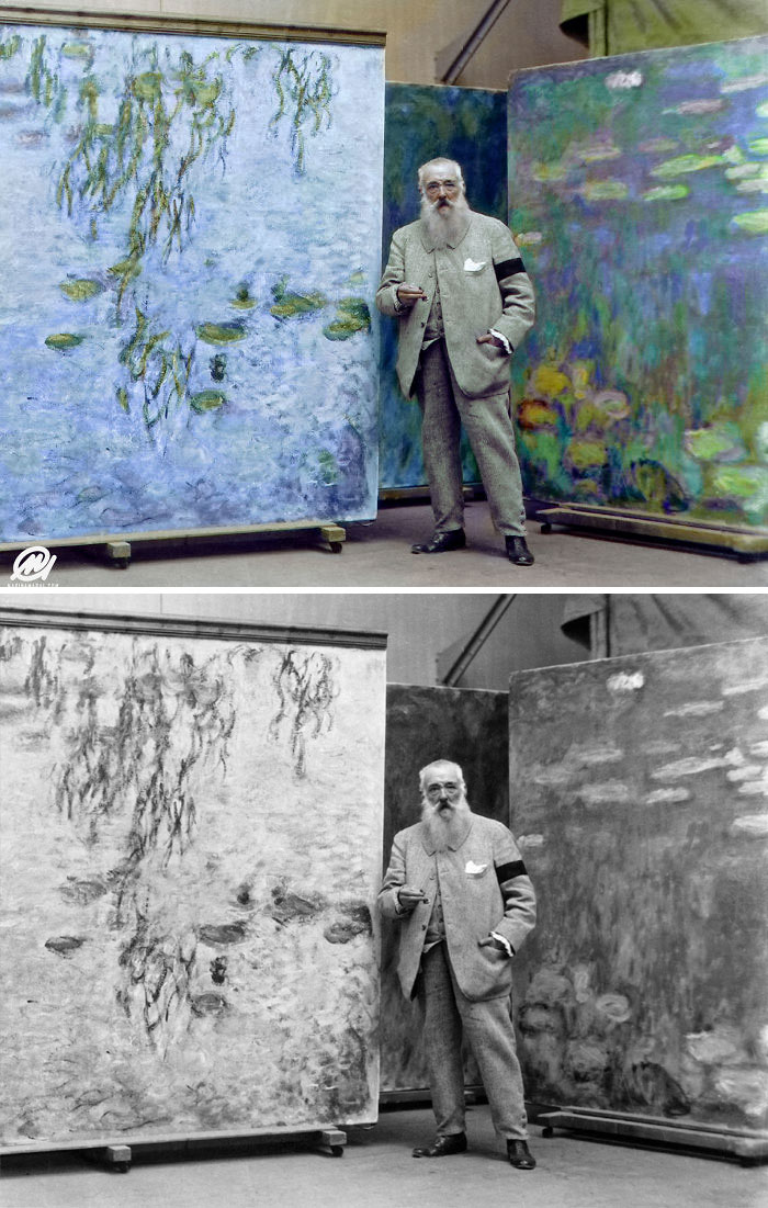 Colorized Monet