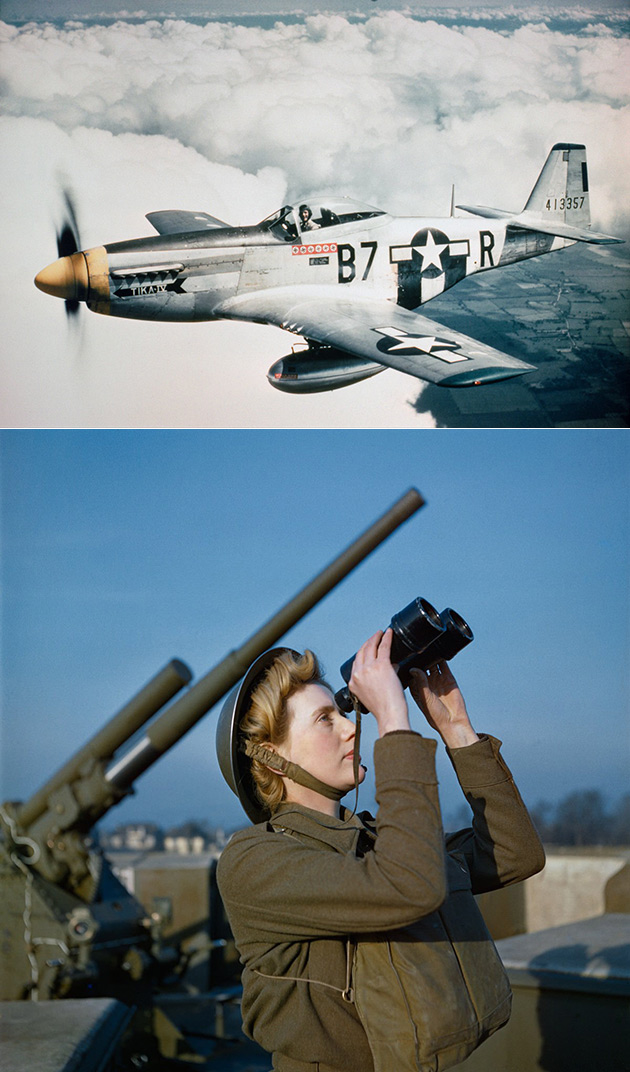 Colorized World War II