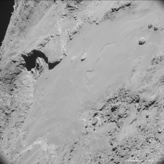 Comet 67P Up-Close