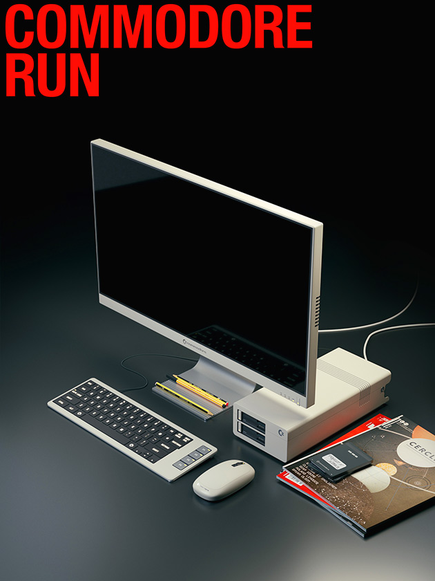 When iMac Meets Commodore 64, You Get the Sleek and Stylish