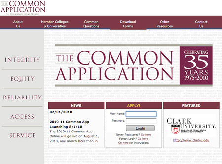 ... the Common Application essay - good for you! But now, where to begin