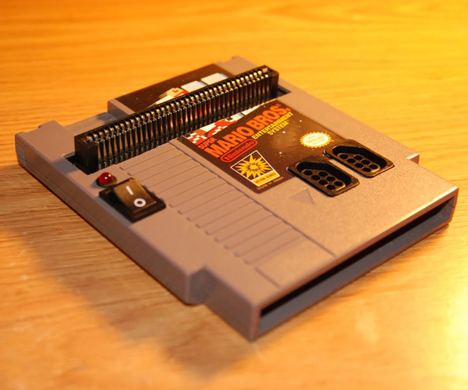 Complete NES System Into Cartridge
