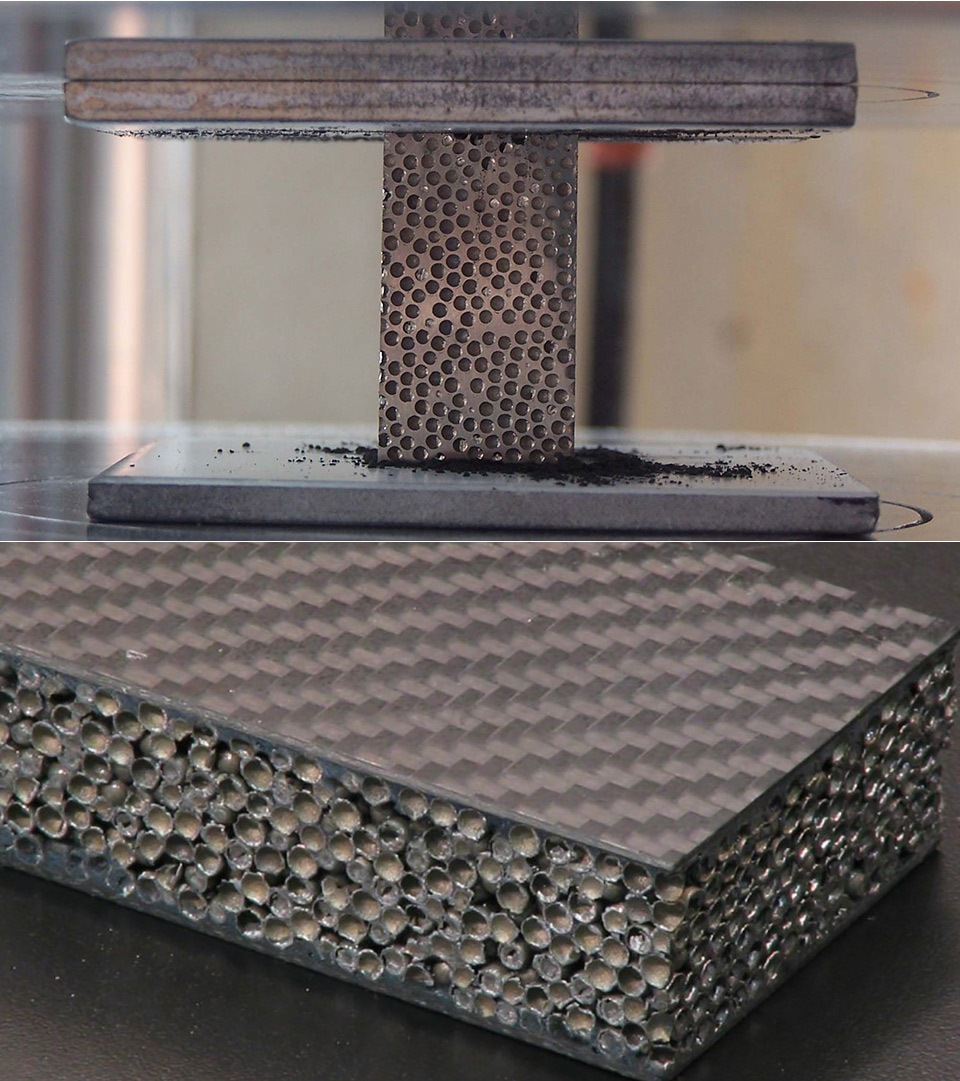 Composite Metal Foam CMF