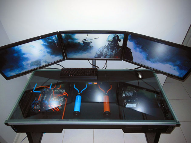 Desk Built In Computer How A Legendary Pc Mod Inspired