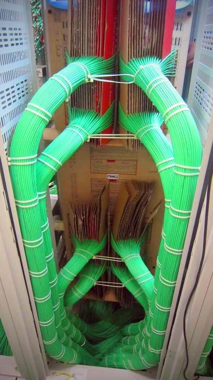 Computer Server Cabling