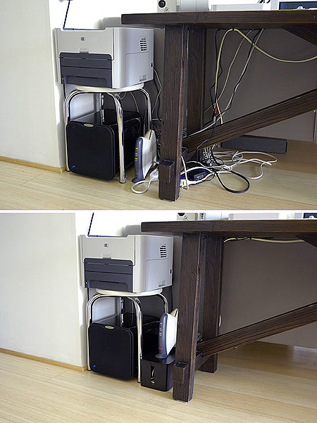 Computer Cable Organizer