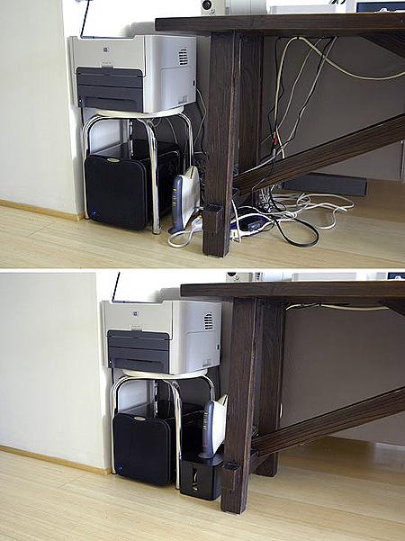 Computer Cable Organizer Techeblog