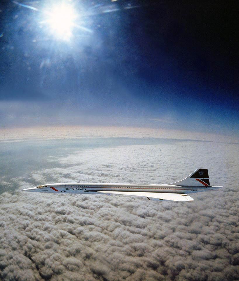 Concorde at Altitude