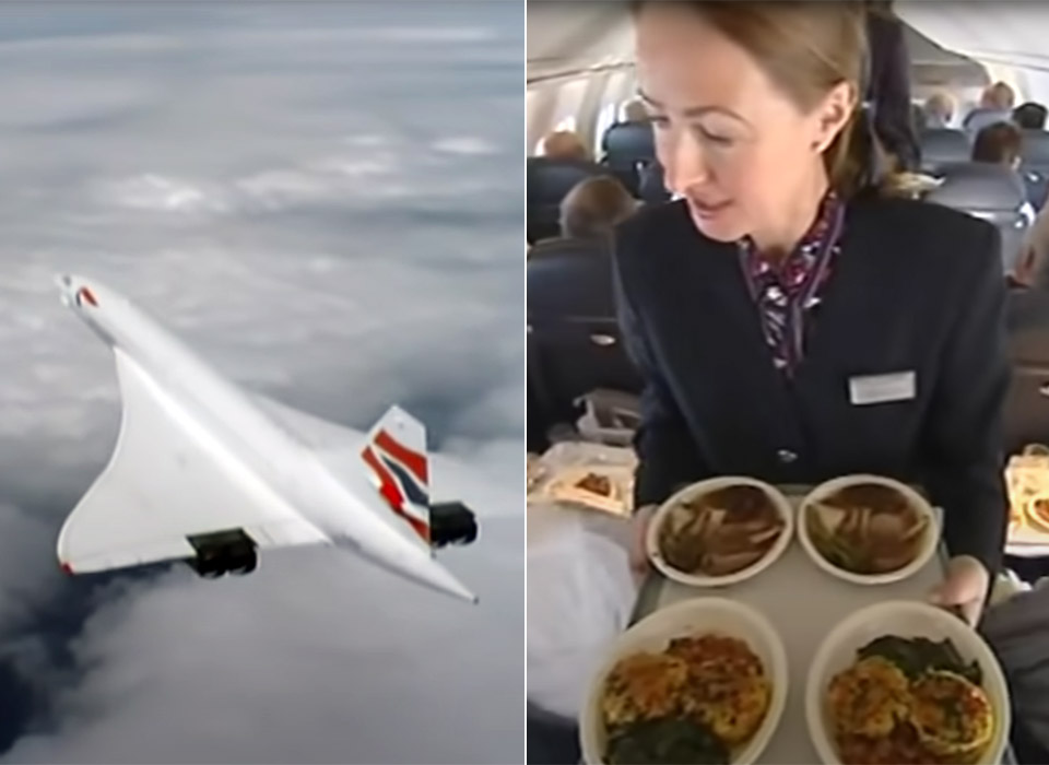 Concorde Last Flight British Airways Heathrow Airport