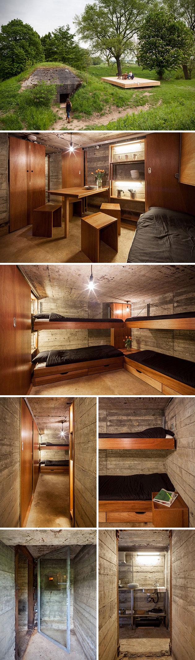 Concrete Bunker Home