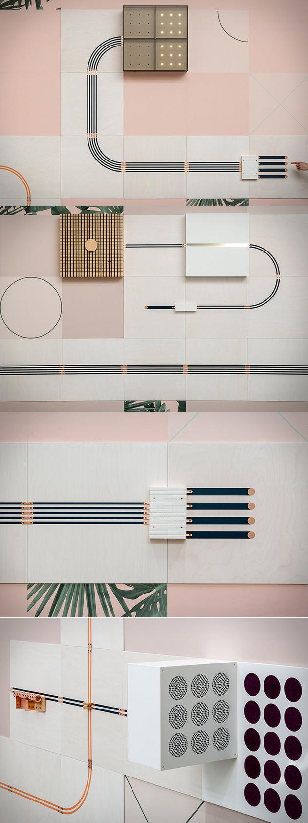 Conductive Wallpaper
