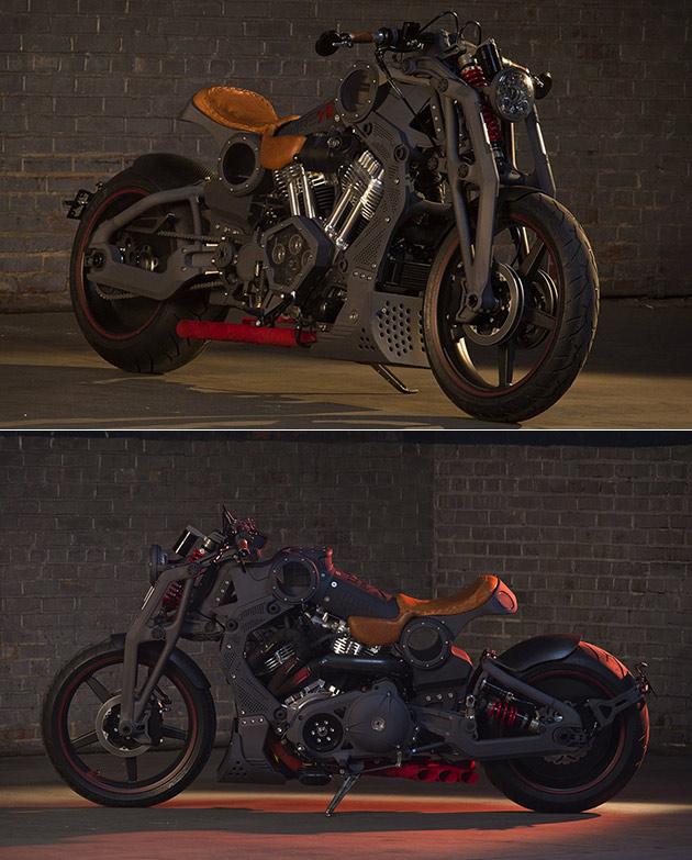 Confederate FA-13 Combat Bomber Motorcycle