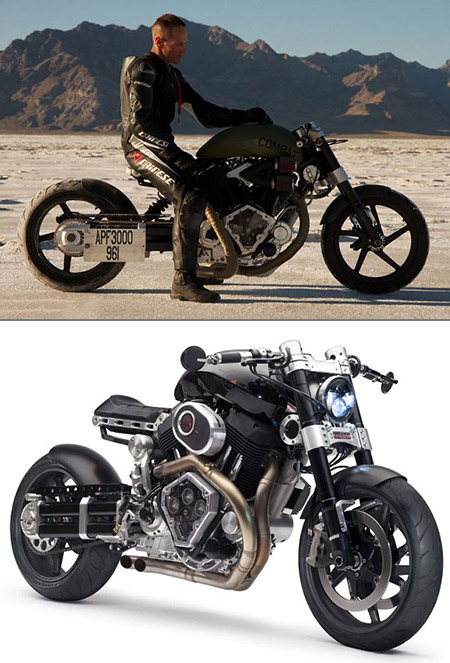 Confederate X132 Hellcat Combat Motorcycle is Capable of 200MPH ...