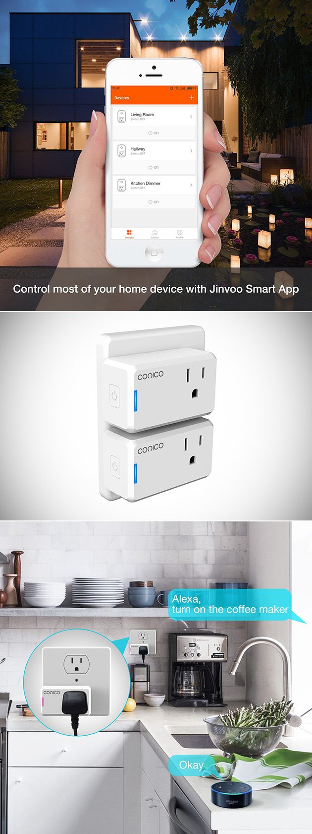 Conico WiFi Smart Plug