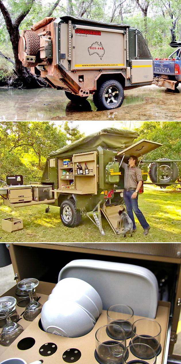 Conqueror Camping Trailer