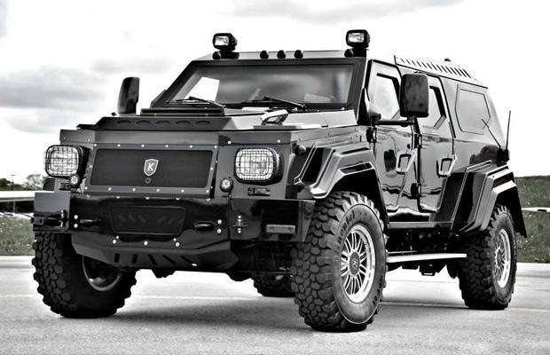 Conquest Knight XV - The World's Craziest High-Tech Armored SUV with iPad Controls