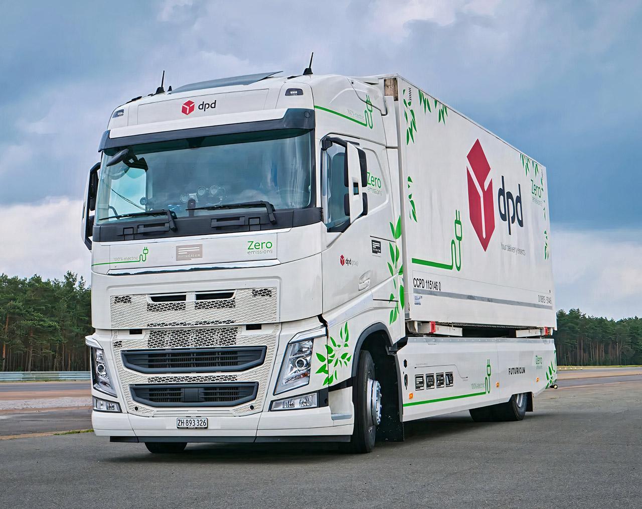 Continental Futuricum Electric Truck Guinness World Record