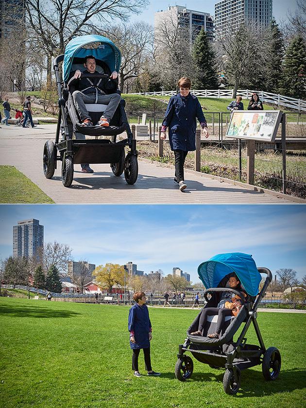 Contours Adult Stroller