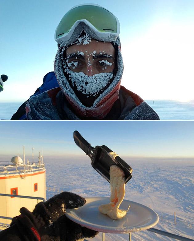 Cooking Antarctica