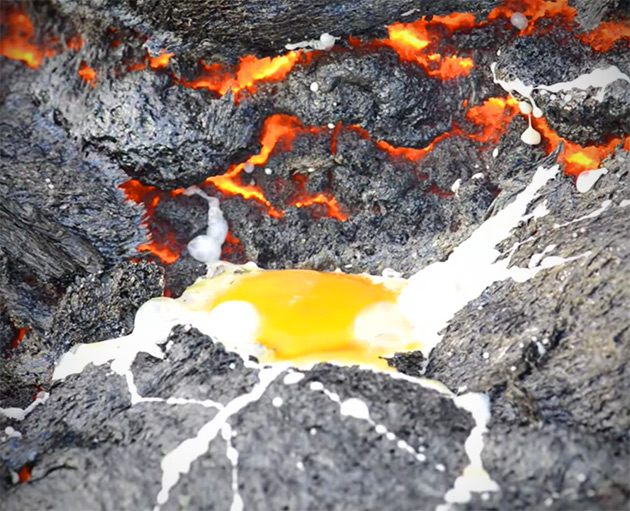 Cooking with Lava