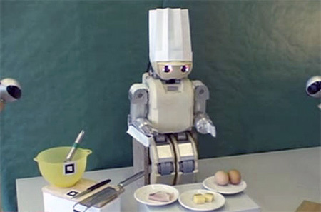 how to make a cooking robot