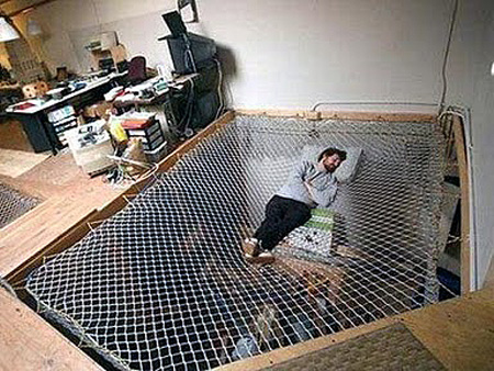 Coolest Bed Ever coolest bed ever looks like a giant net - techeblog