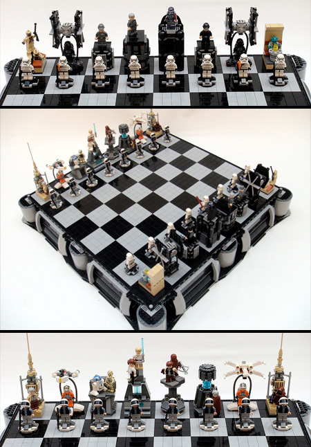 Cool and creative chess sets techeblog - Coolest chess sets ...