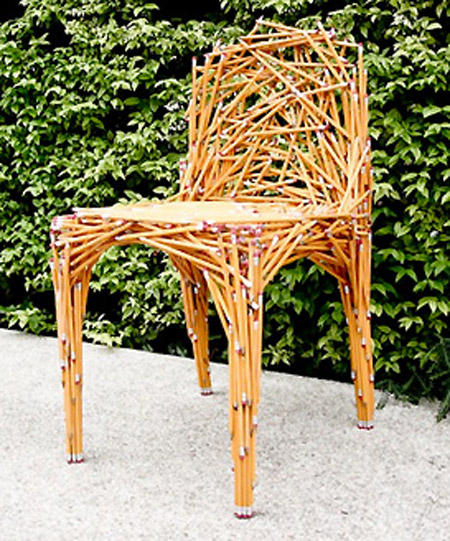 Most chairs look boring these definitely do not. First up we have an interesting chair that was crafted entirely from pencils though we\u0027re not sure how ... & 10 Cool and Creative Chairs - TechEBlog