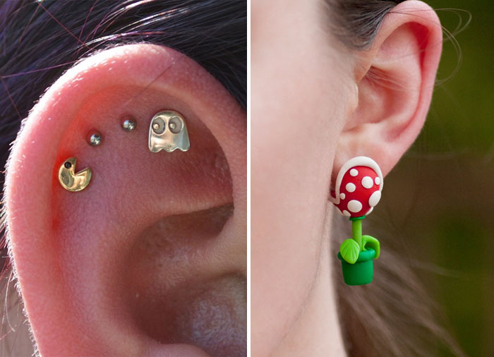 Cool Creative Geeky Earrings
