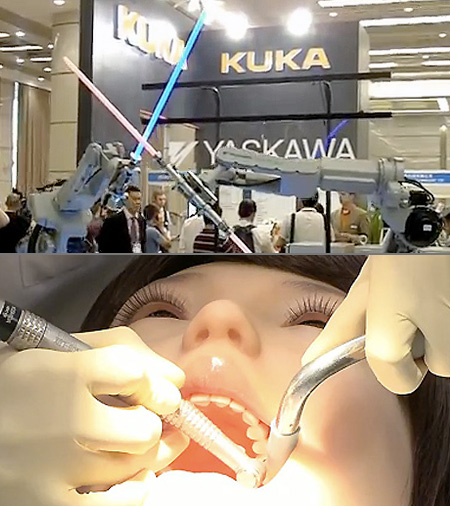Without Throwing In A Few Amazing Ones And Weve Done Just That In Our Latest Feature Above Youll Catch A Glimpse Of The Hanako 2 Dental Robot