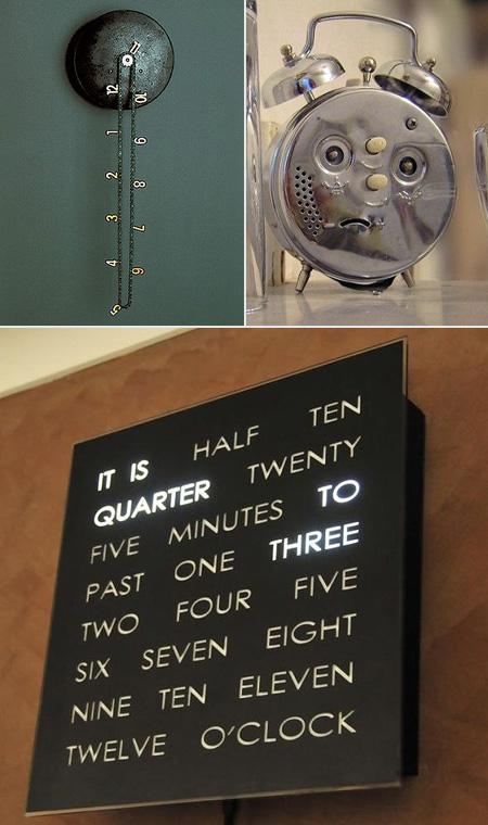 10 Cool And Weird Clock Designs For Geeks Techeblog