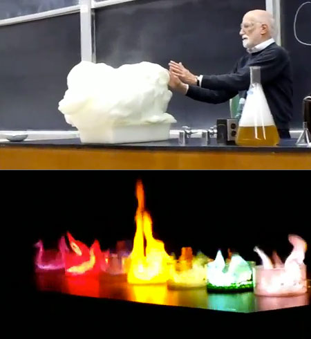 chemistry experiments youtube