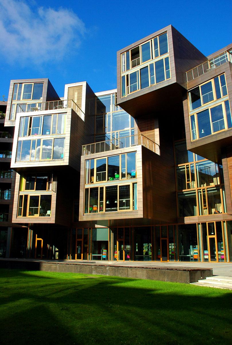 La plupart des dortoirs College sont ennuyeux, Tietgenkollegiet ressemble comme un Resort de luxe