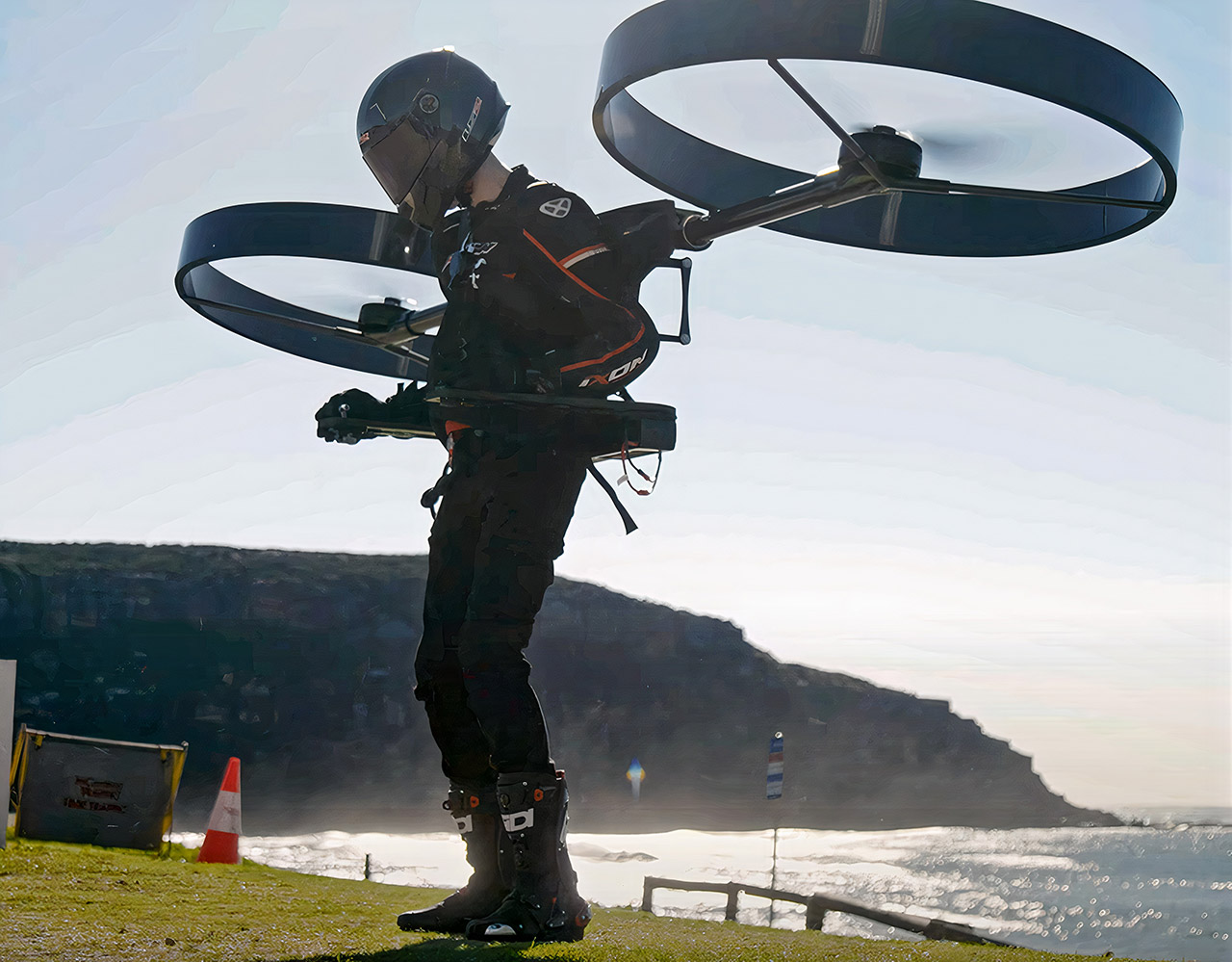 CopterPack Backpack Helicopter Successfully Completes First Flight – TechEBlog