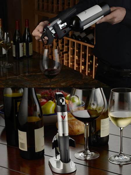 High Tech Coravin 1000 Bottle Opener Lets You Pour Wine